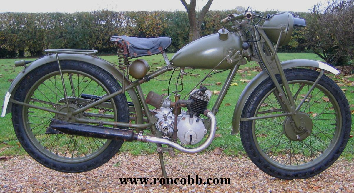 royal enfield wd flying flea ww2 military motorcycle for sale